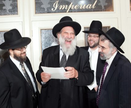 Rav Asher with the author